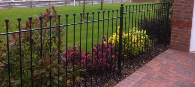 Captivating Palisade Fencing For Gardens