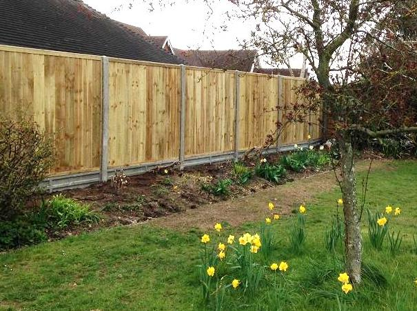 Pressurised Close Board Fencing Worcester