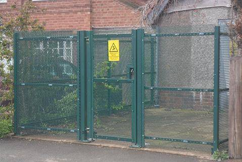 Rigid Steel Mesh Fencing