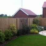 Wooden Garden Fencing Midlands