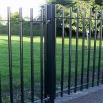 Vertical Bar Fencing Worcester