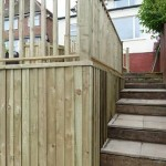 worcester Fencing solutions New Steps from Decking area