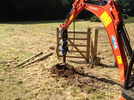 Fence Post Rammer hire Worcester UK