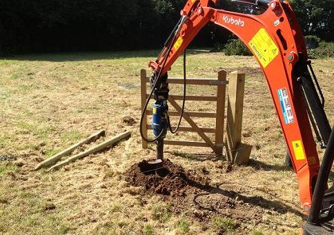 Post Hole Borer & Rammer Hire Worcestershire