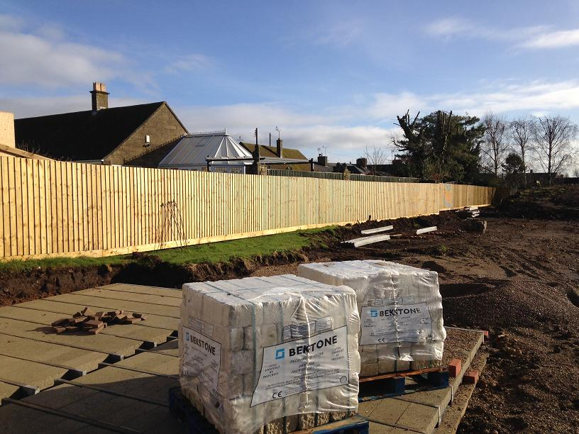 Fencing Contractor for Housing Developer