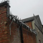 barbed security railings Worcester