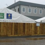 Closeboard Fencing at Sixways Stadium